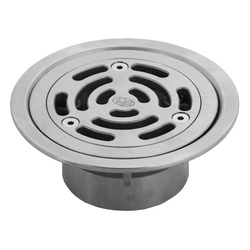 Stainless Steel Floor Drain Grate Ass Vinyl 100X80PVC Slip-In
