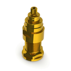 Brass 20mm (Adj) Spindle Extension for Safe-Cell Wall Top Assembly