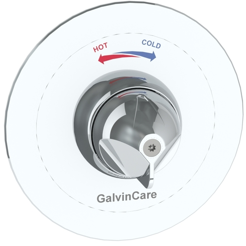 CliniMix® Lead Safe™ Inwall Thermostatic Progressive Shower Mixer with GalvinCare® Handle H&C