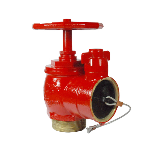 Red Emperor Fire Valve 65 BIC w/Top B/Fly Cap [WA] Painted - BSP Inlet w/ Nylon Plug