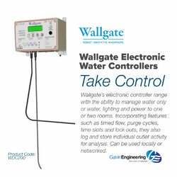 Wallgate Electronic Water Controllers